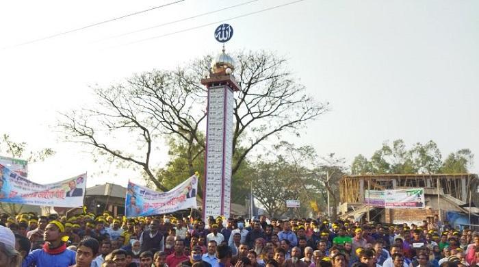 রংপুরে-আল্লাহ'র-৯৯-নাম-সংযুক্ত-স্তম্ভের-উদ্বোধন