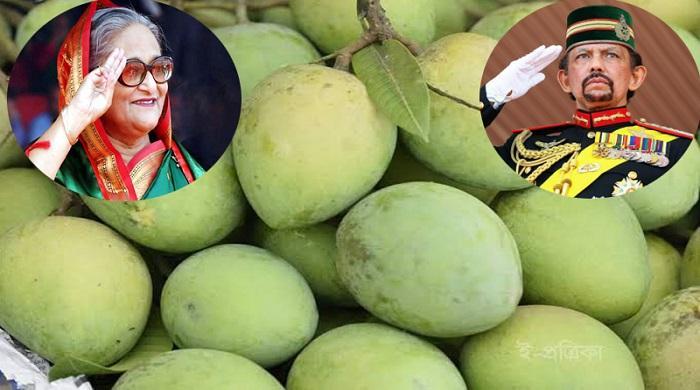 ব্রুনাইয়ের-সুলতানকে-'হাড়িভাঙ্গা'-আম-পাঠালেন-প্রধানমন্ত্রী