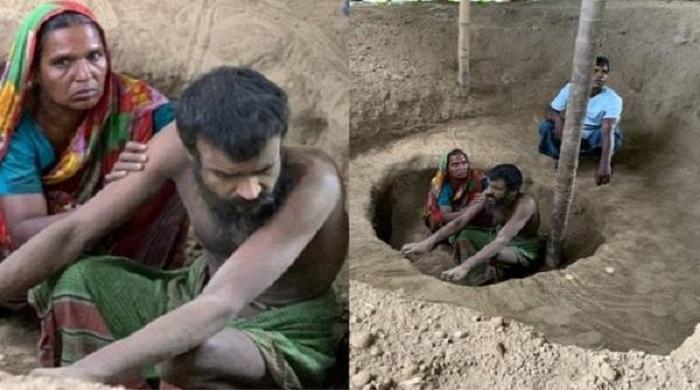 ১৫-বছর-ধরে-মাটির-গর্তে-শিকলবন্দি-রবিউলের-জীবন