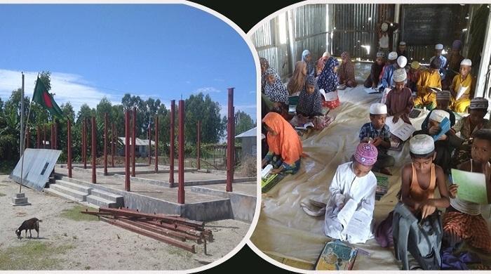 স্কুলভবন-শিক্ষক-না-থাকায়-শিক্ষার্থীরা-ভর্তি-হলো-মাদরাসায়